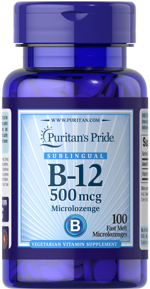 Vitamin B-12 500 mcg Sublingual