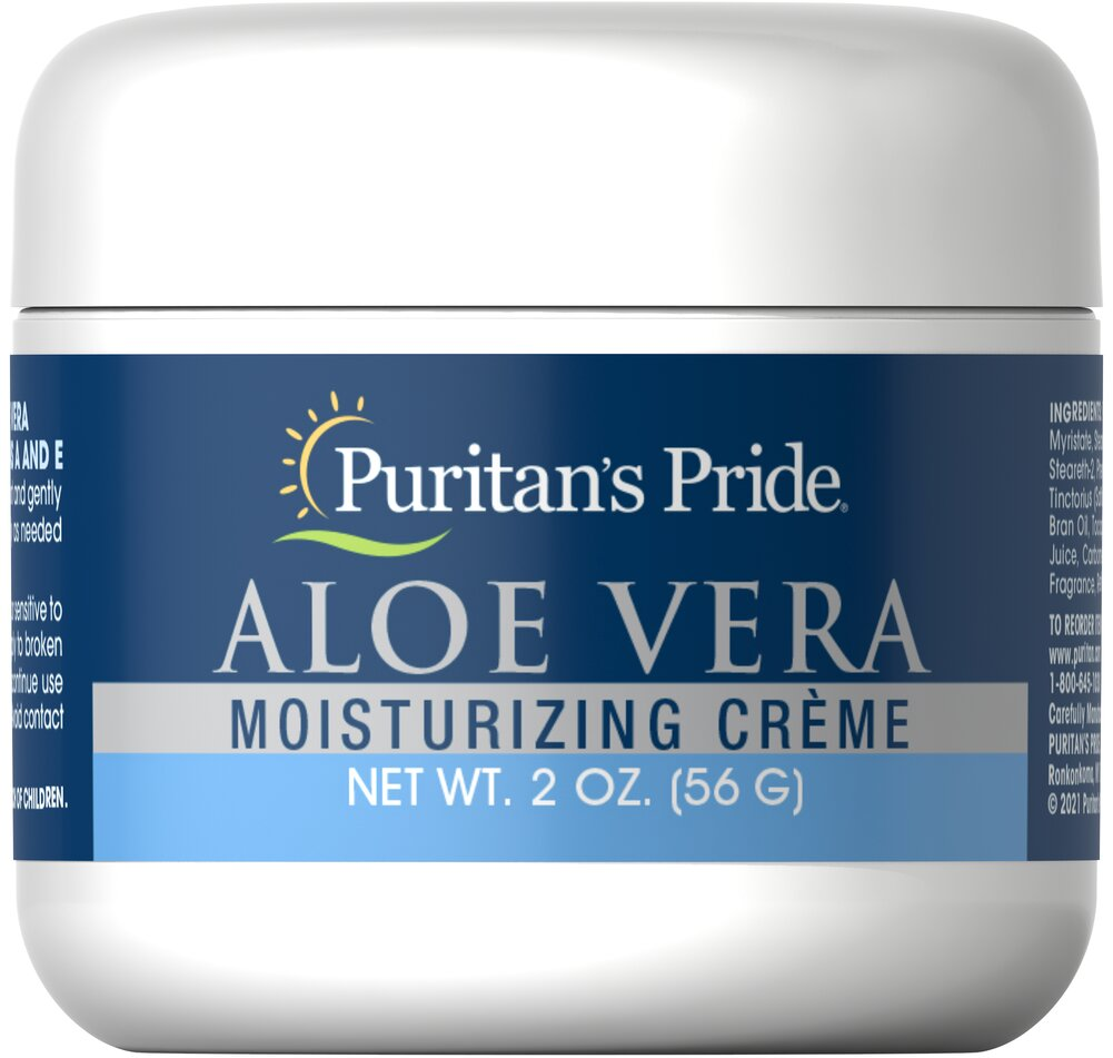 Aloe Vera Natural Moisturizing Creme Thumbnail Alternate Bottle View