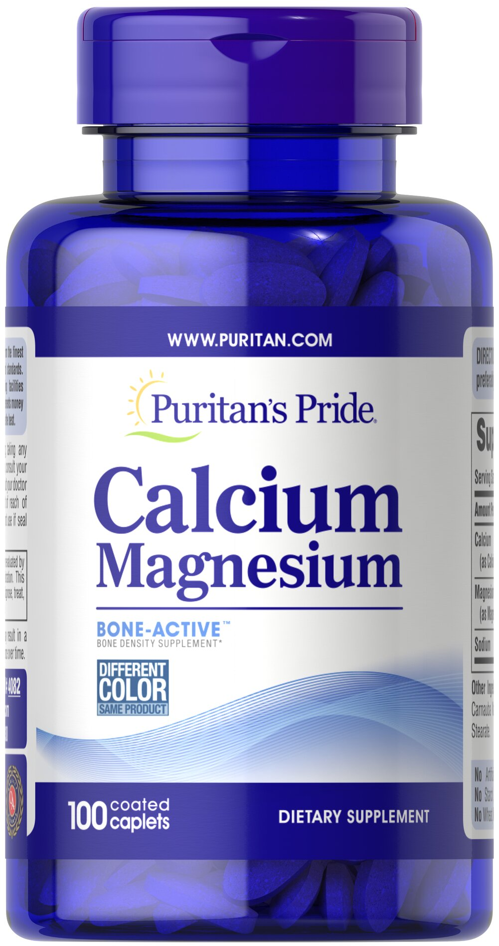 Chelated Calcium Magnesium Thumbnail Alternate Bottle View