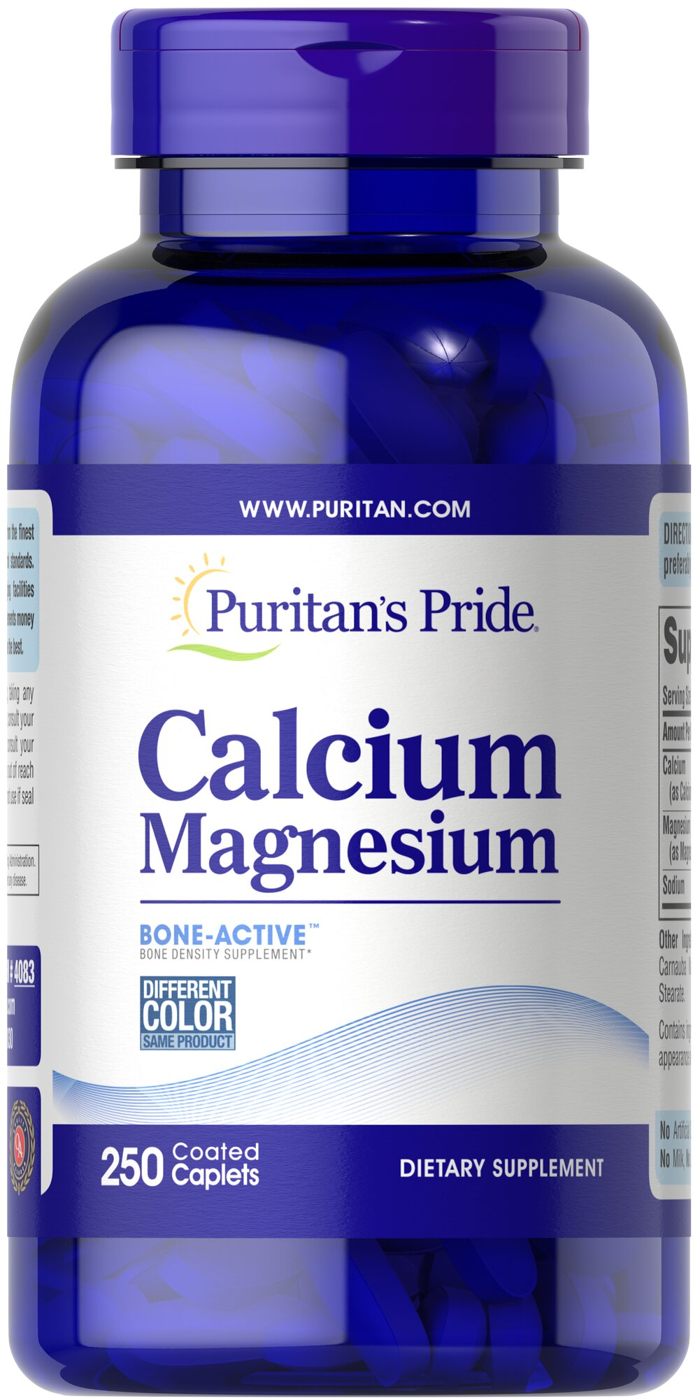 Calcium Magnesium Thumbnail Alternate Bottle View