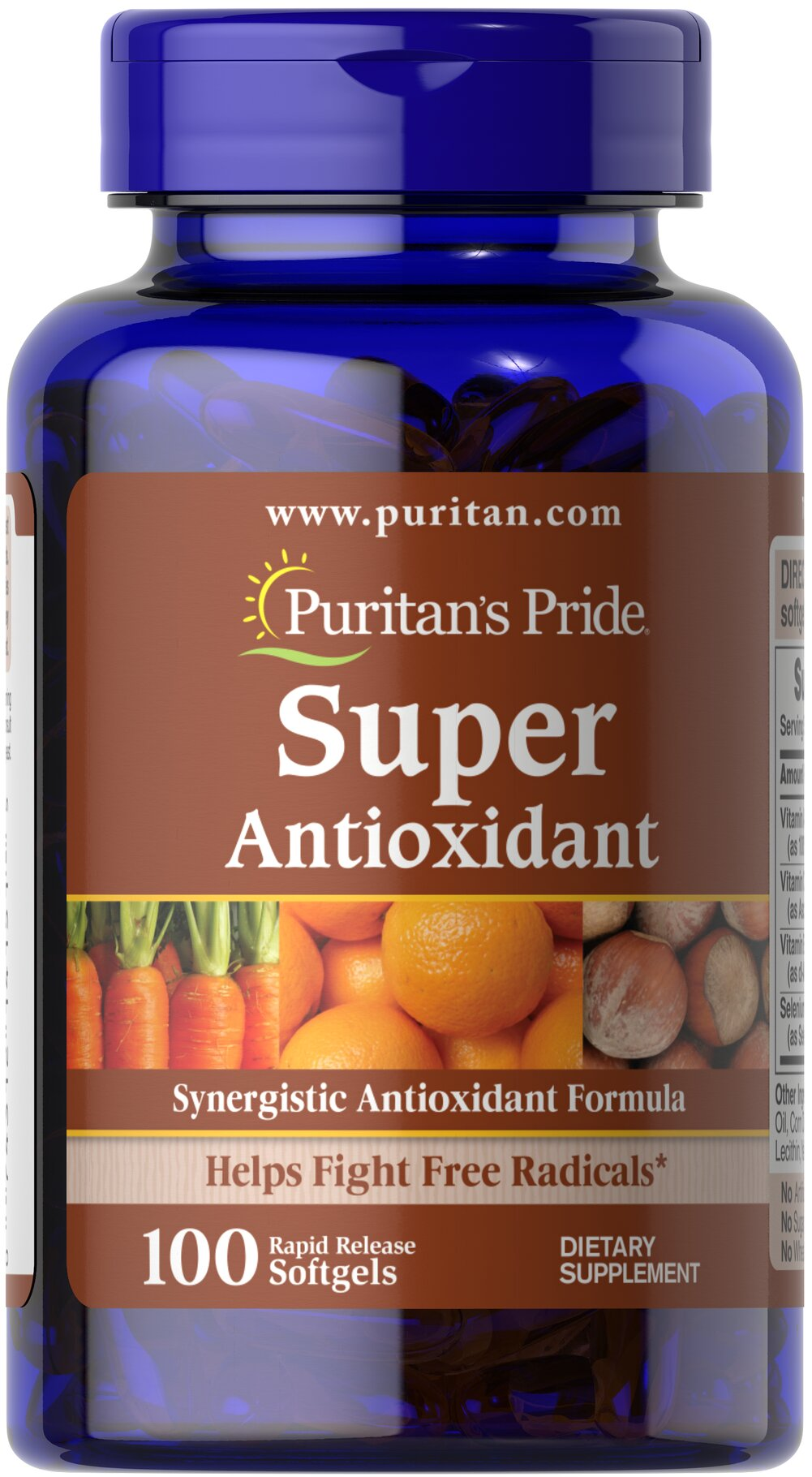 Super Antioxidant Formula** Thumbnail Alternate Bottle View