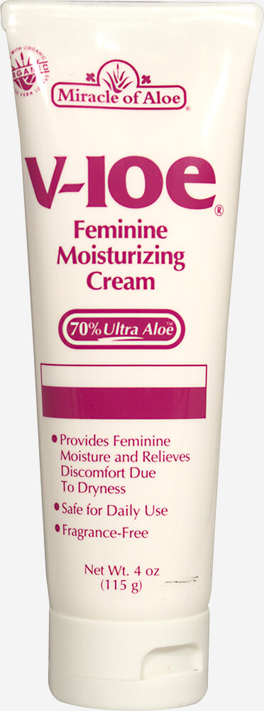 V-Loe® Feminine Moisturizing Cream Thumbnail Alternate Bottle View