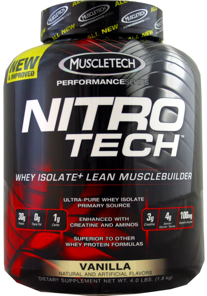 Nitro-Tech™ Performance Series Vanilla