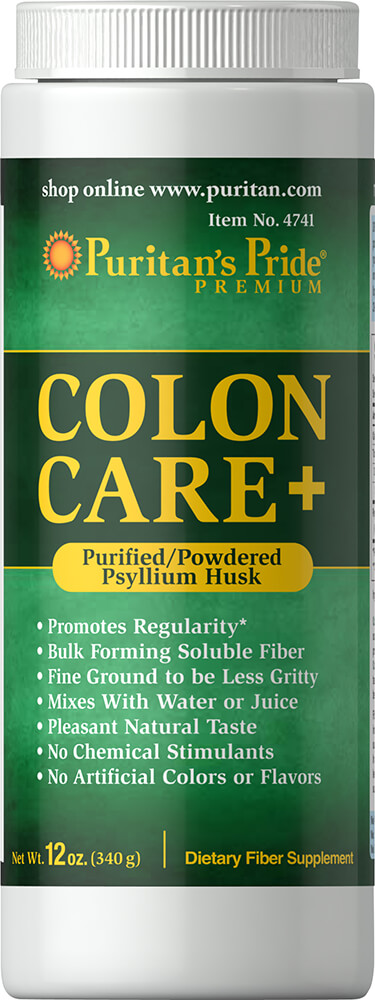 Colon Care + (Purified/Powdered Psyllium Husk)