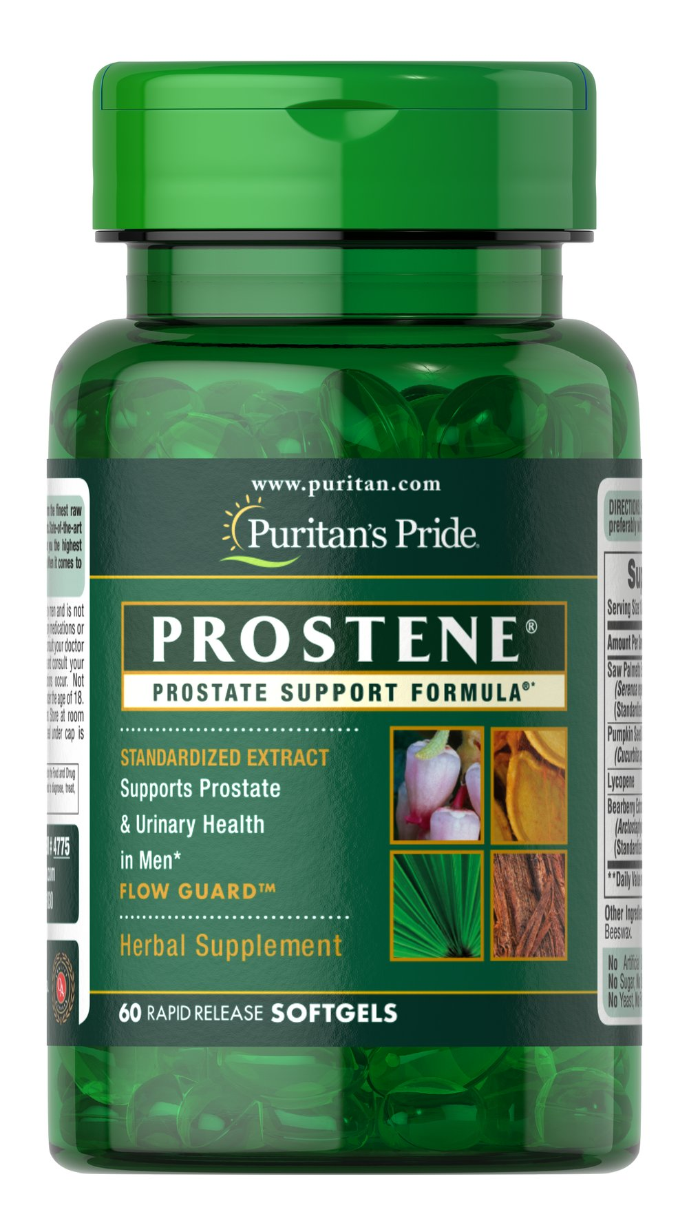 Prostene® Prostate Support Formula® Thumbnail Alternate Bottle View