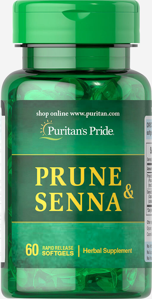 Prune & Senna Thumbnail Alternate Bottle View