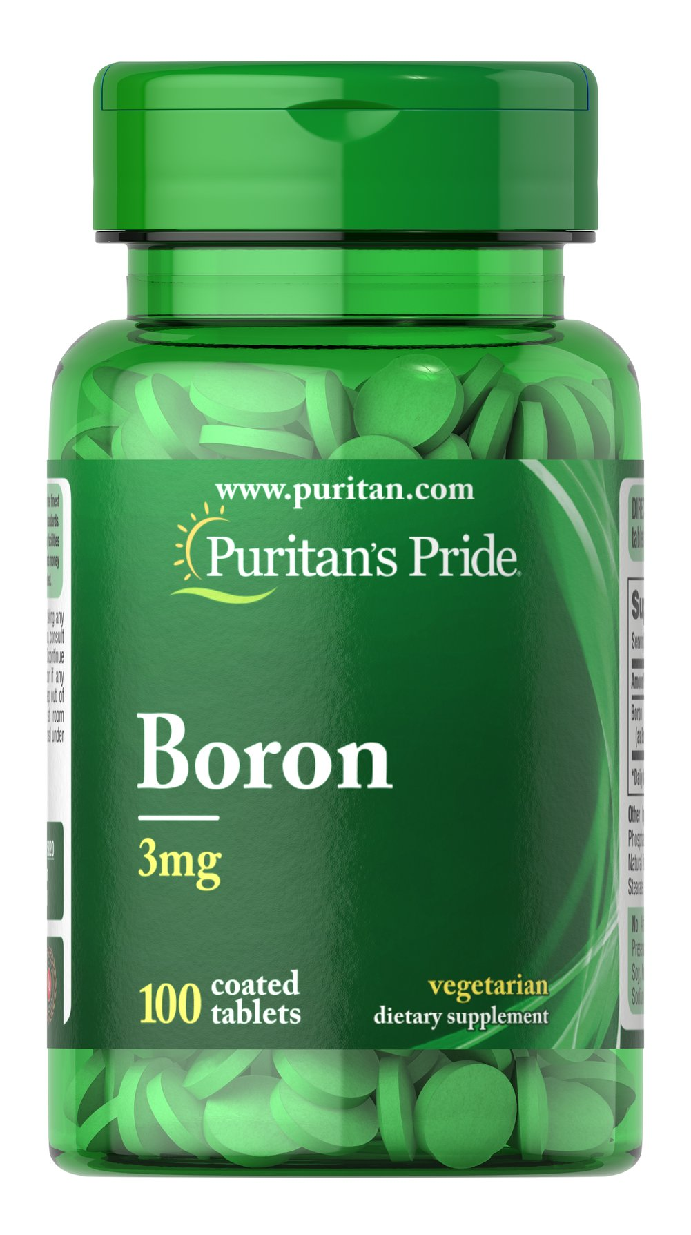 Boron 3 mg Thumbnail Alternate Bottle View