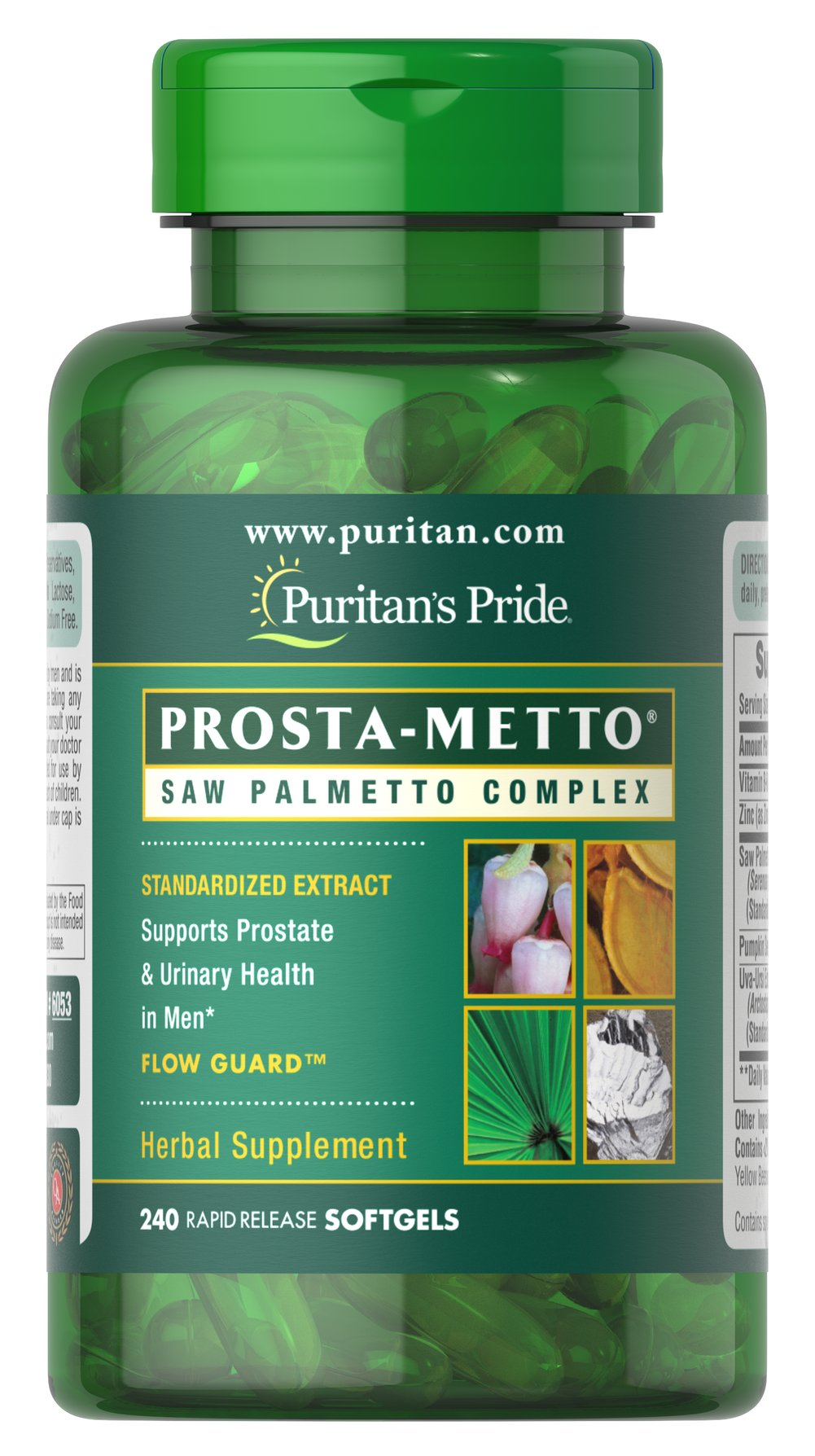 Prosta-Metto® Saw Palmetto Complex For Men