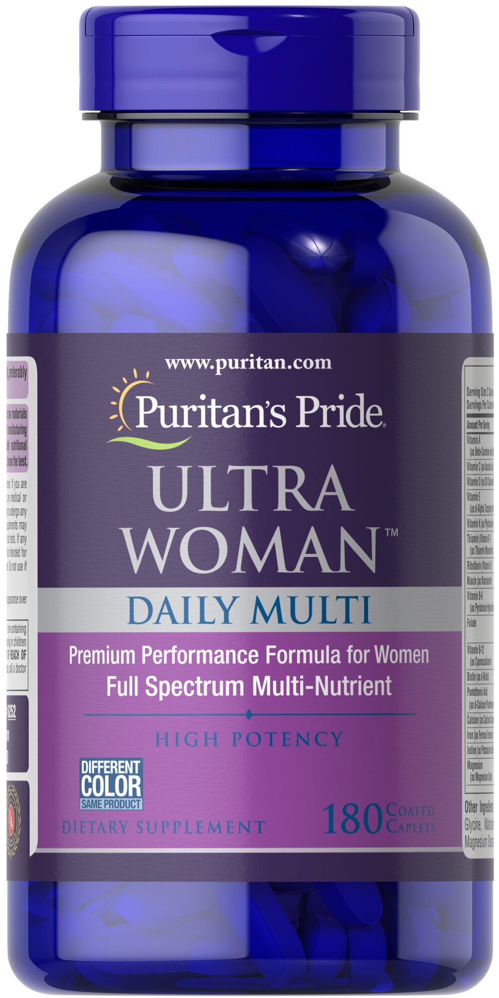 Ultra Women™ Daily Multi Timed Release Thumbnail Alternate Bottle View