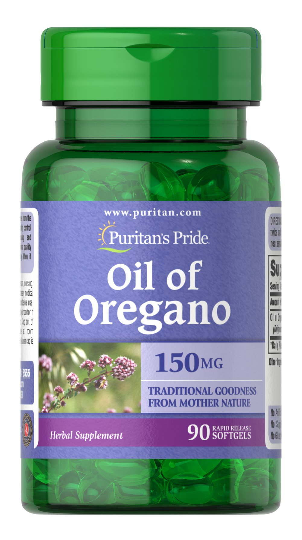 Oil of Oregano 150 mg