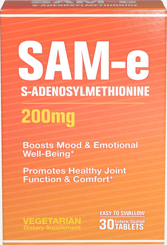 SAM-e 200 mg Thumbnail Alternate Bottle View