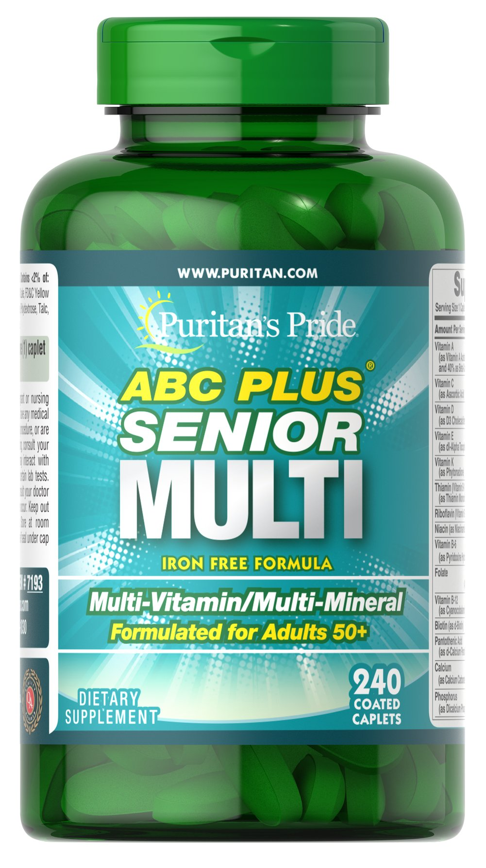 ABC Plus® Senior Multivitamin Multi-Mineral Formula