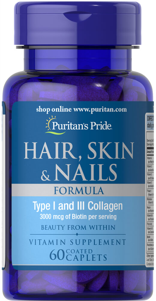 Hair, Skin & Nails Formula Thumbnail Alternate Bottle View