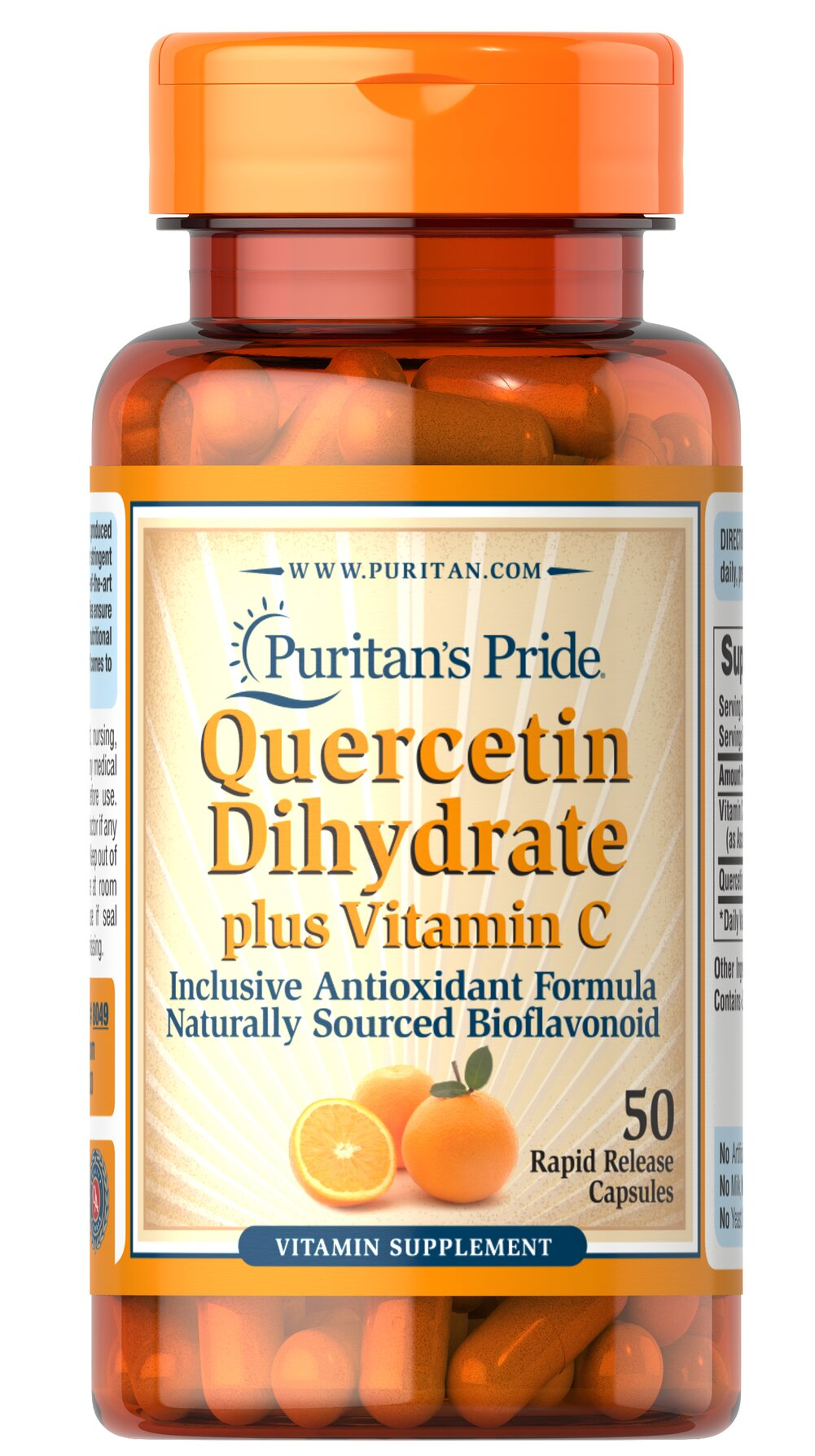 Quercetin Plus Vitamin C 250 mg/700 mg