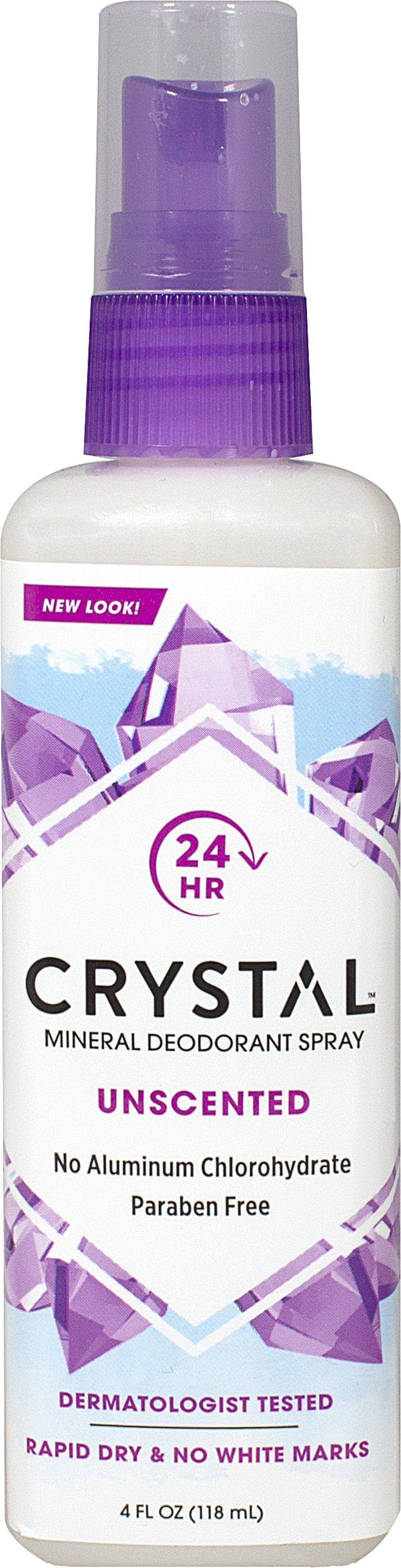 Crystal® Body Deodorant Spray Thumbnail Alternate Bottle View