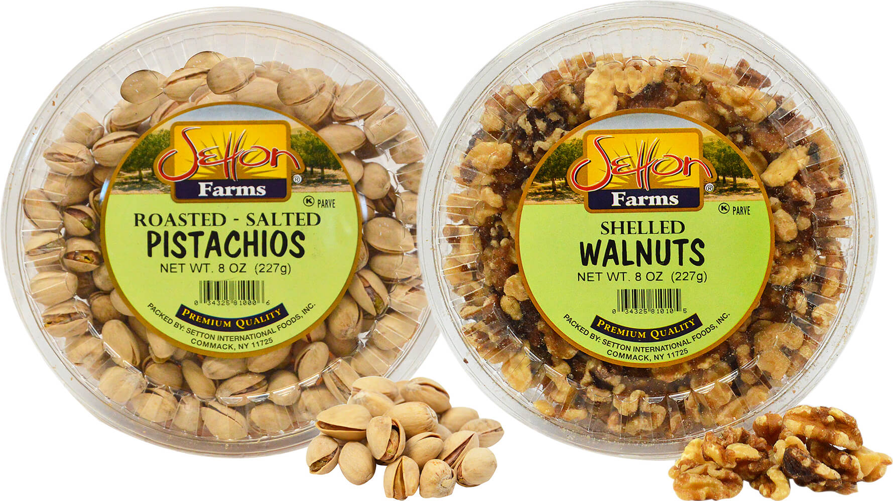 Pistachio and Walnut Pack