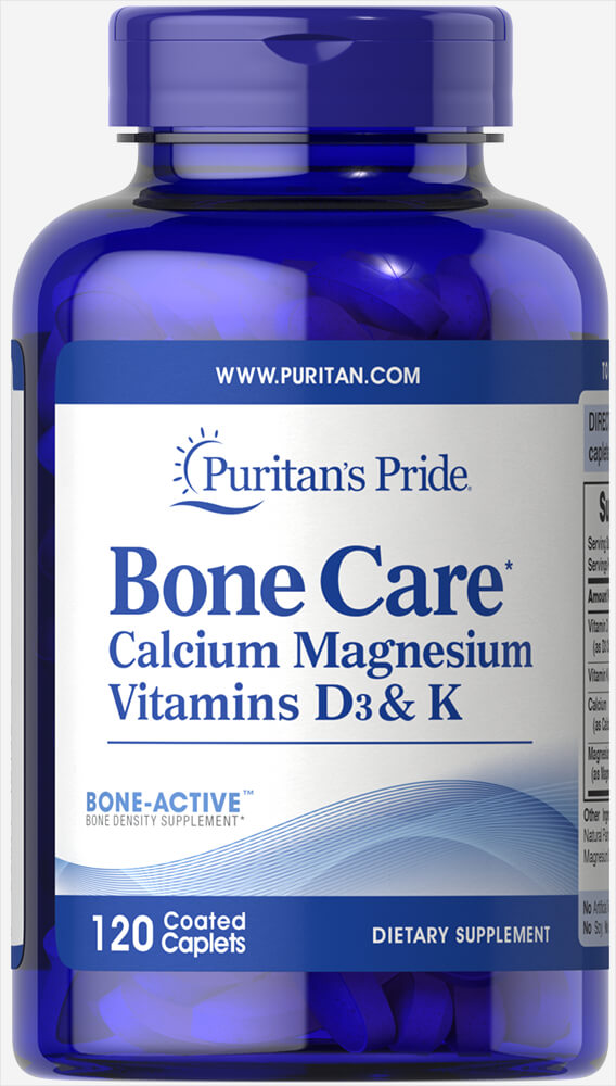 Bone Care Thumbnail Alternate Bottle View