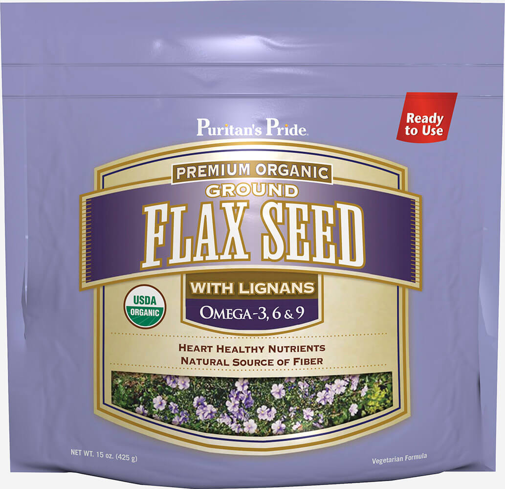 Organic Cold Milled Ground Flax Seed