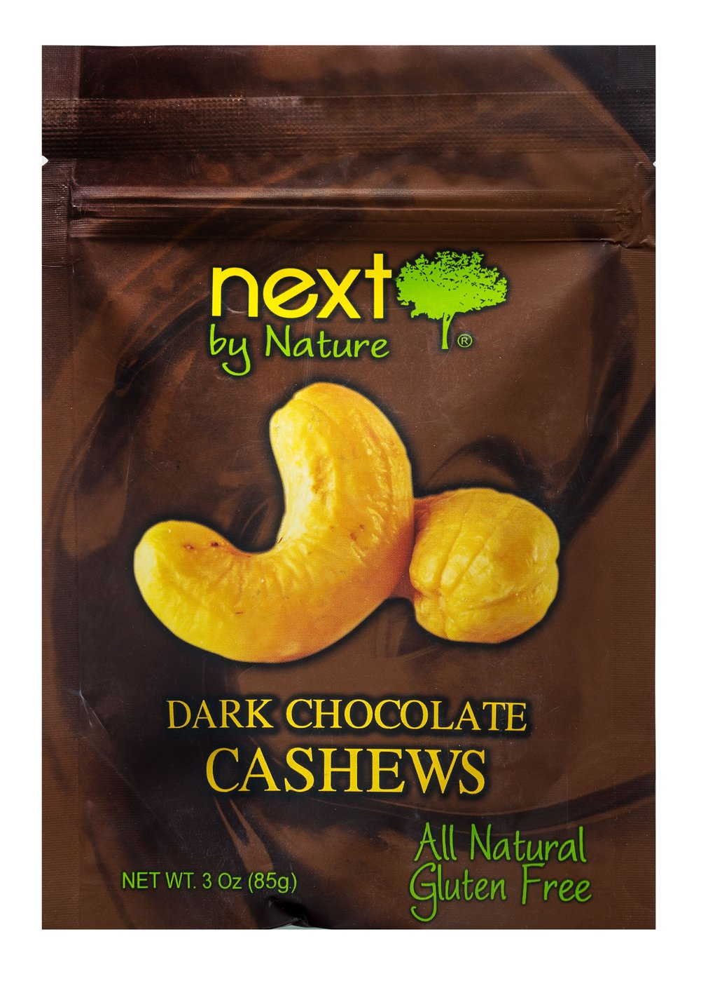 Dark Chocolate Cashews Thumbnail Alternate Bottle View