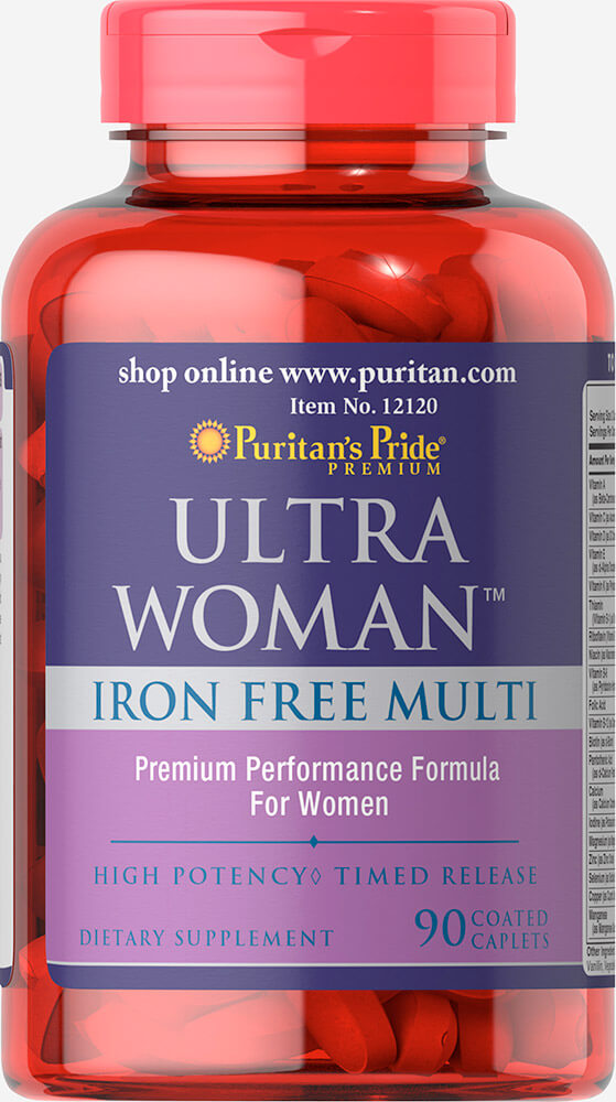 Ultra Women™ Daily Multi Iron Free Timed Release with Zinc