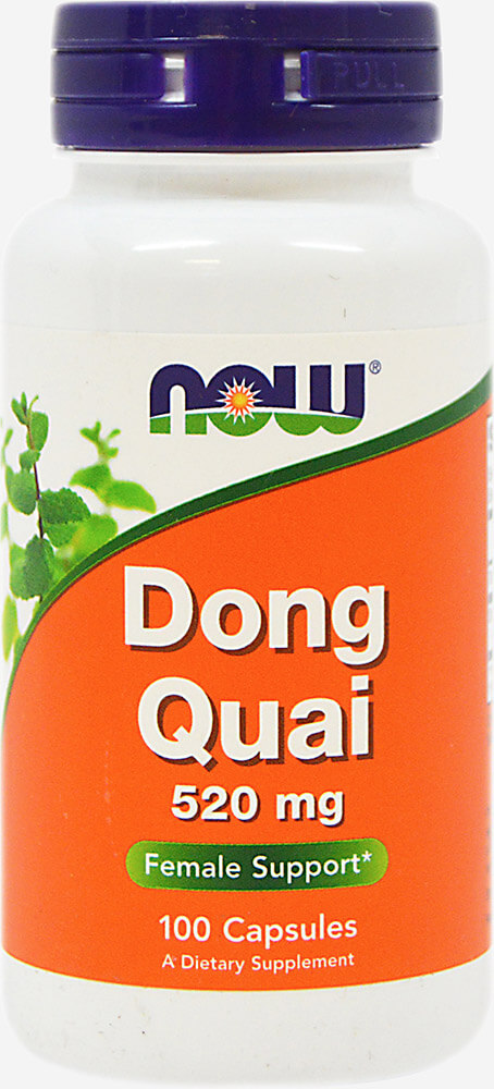 NOW Foods Dong Quai Root 520 mg-100 Capsules 012349