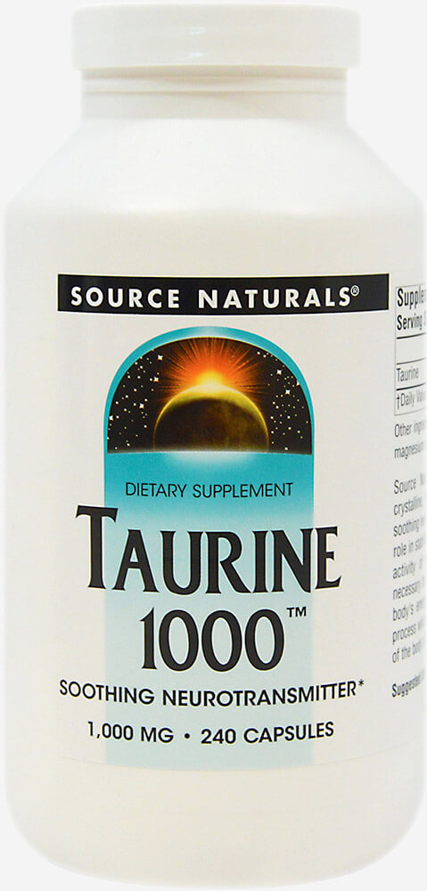 Amino Acid Supplements: Taurine 1000