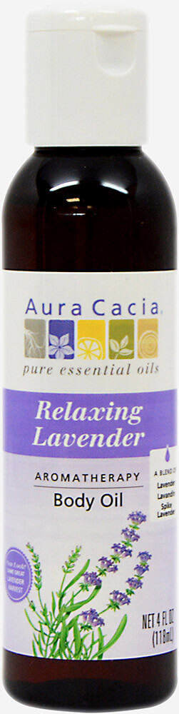 Relaxing Lavender Body Oil