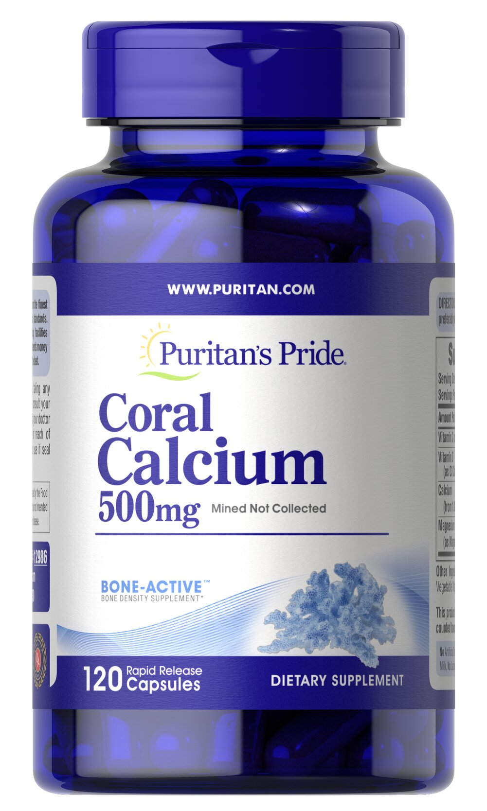 Coral Calcium Complex Thumbnail Alternate Bottle View