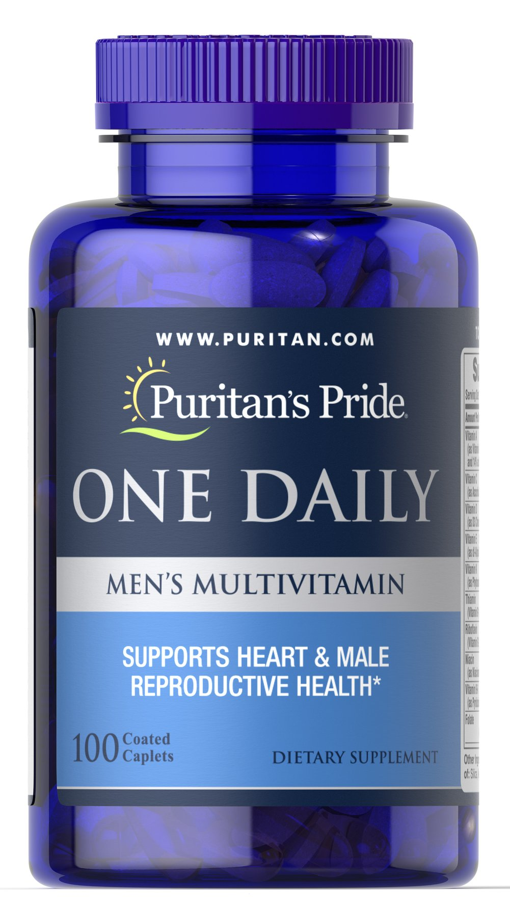 One Daily Men's Multivitamin Thumbnail Alternate Bottle View