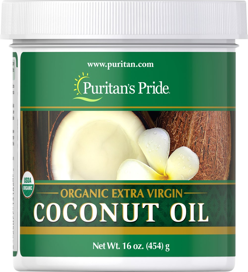 Organic Extra Virgin Coconut Oil Thumbnail Alternate Bottle View