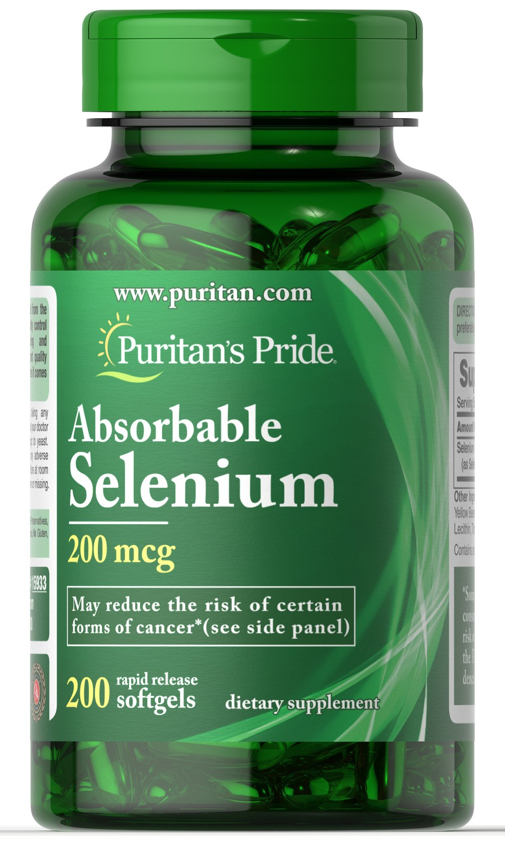 Absorbable Selenium 200 mcg Thumbnail Alternate Bottle View