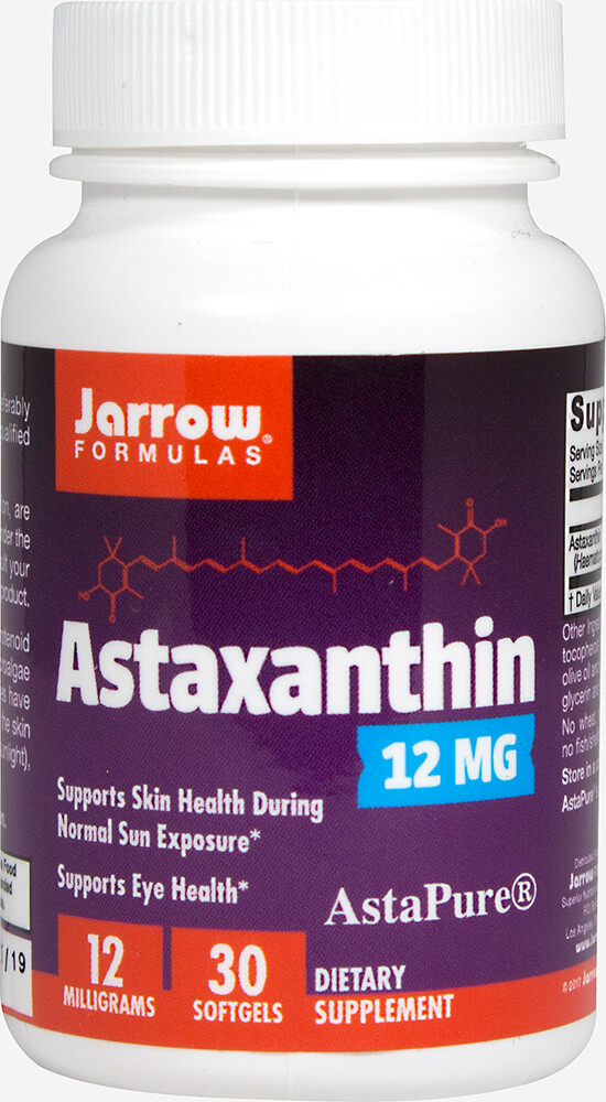 Astaxanthin 12 mg Thumbnail Alternate Bottle View