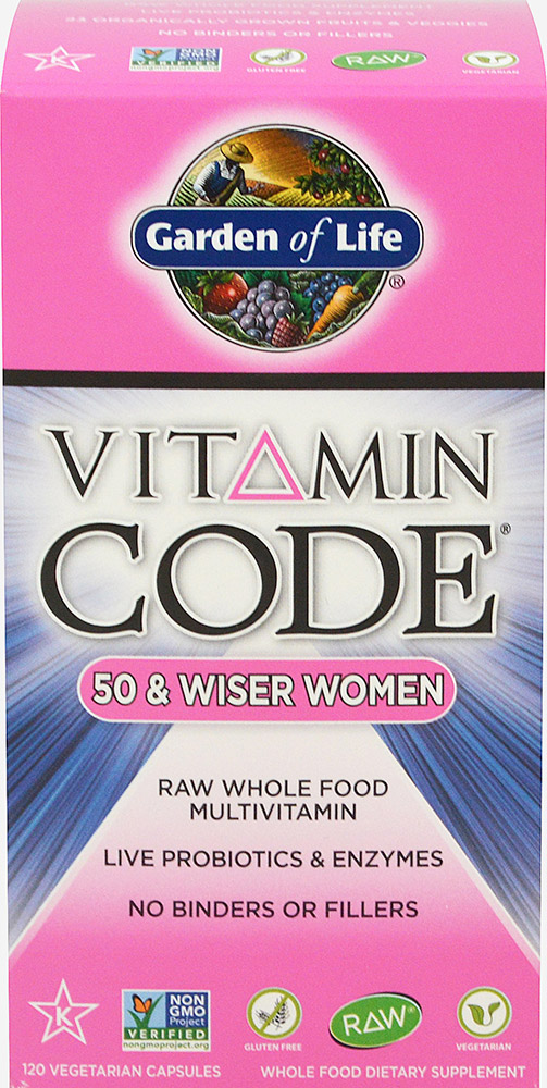 Vitamin Code® 50 & Wiser Women Thumbnail Alternate Bottle View