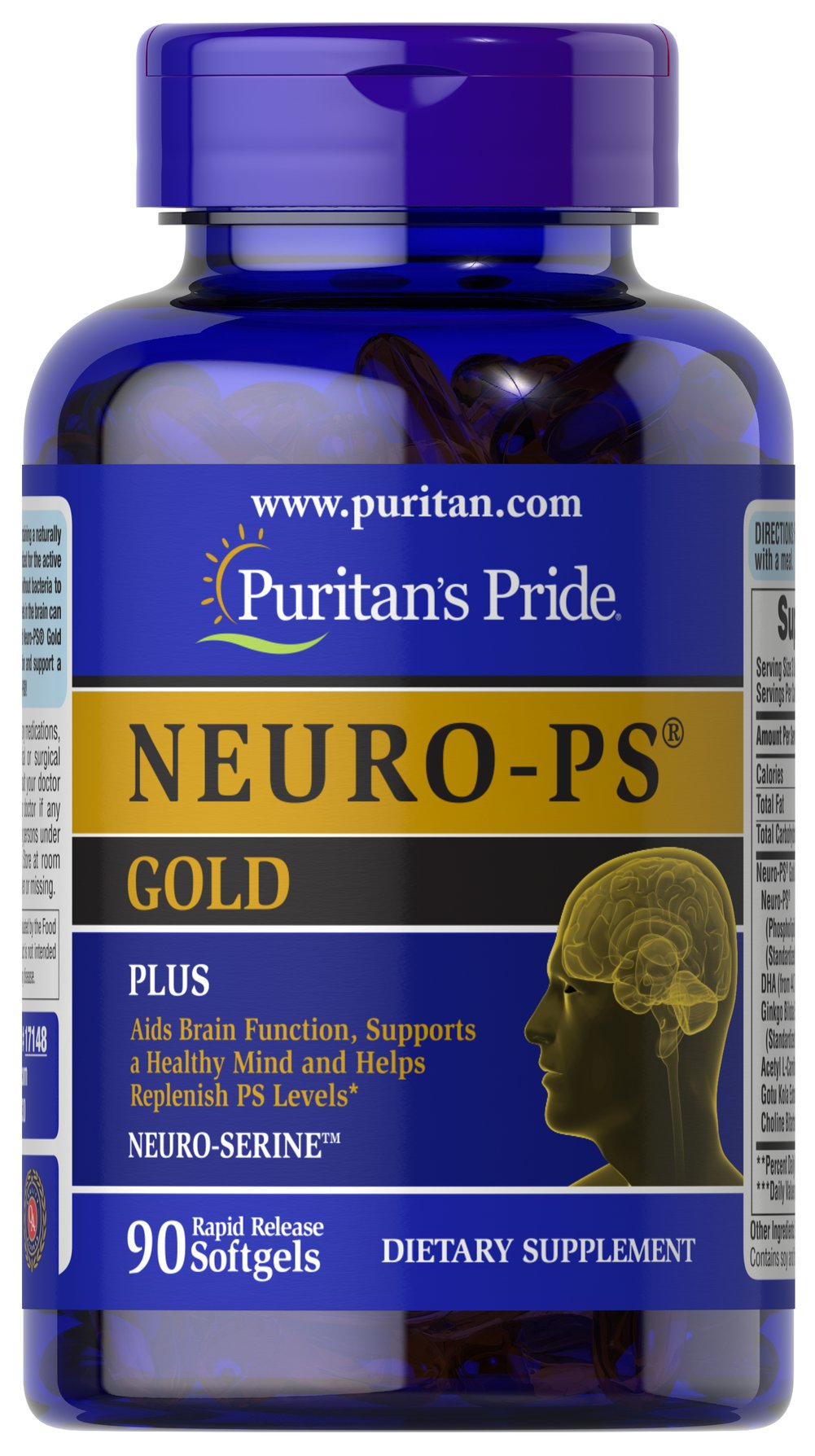 NEURO-PS® GOLD™ Thumbnail Alternate Bottle View