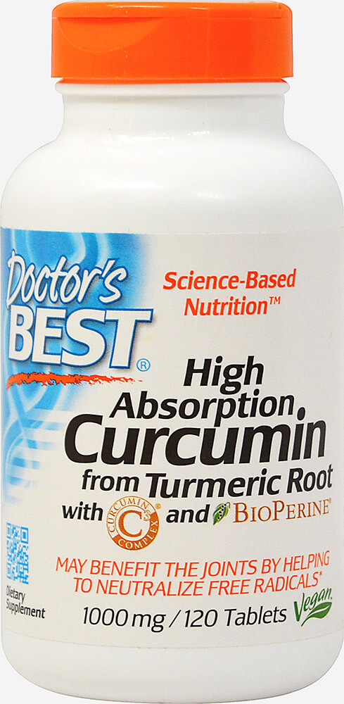 High Absorption Curcumin 1000 mg with Bioperine 5 mg
