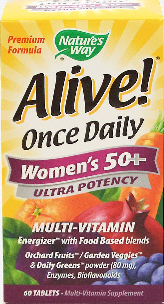 Alive!® Once Daily Women's 50+ Ultra Potency Multi Vitamin