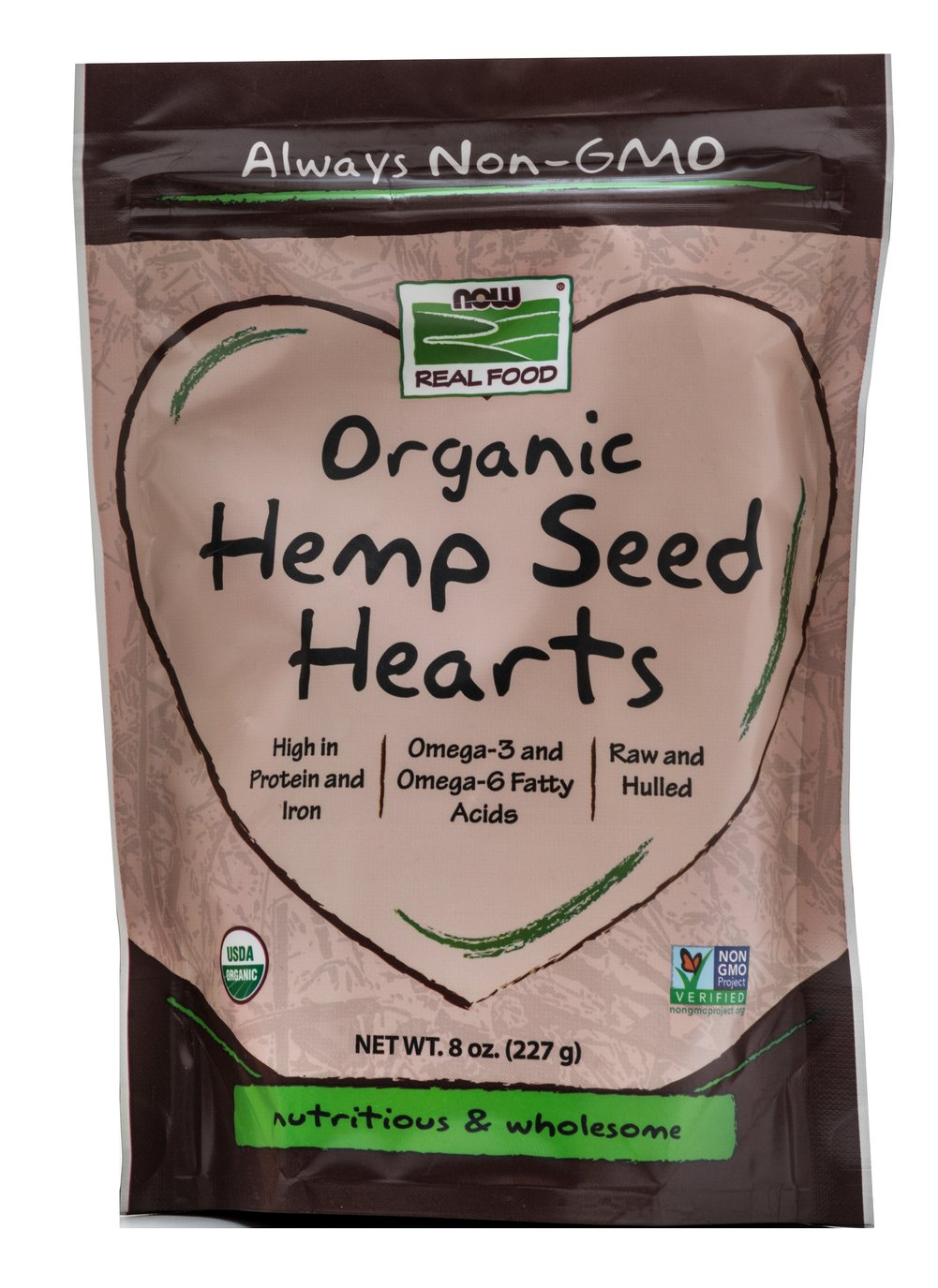 Organic Hemp Hearts Thumbnail Alternate Bottle View
