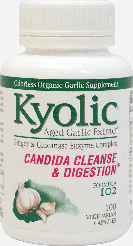 Aged Garlic Candida Cleanse & Digestion