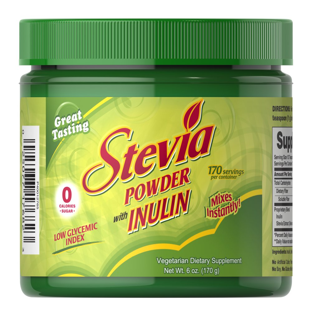Stevia Powder Thumbnail Alternate Bottle View