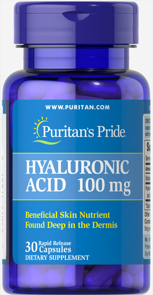 Hyaluronic Acid 100 mg 30 Capsules | Joint Support