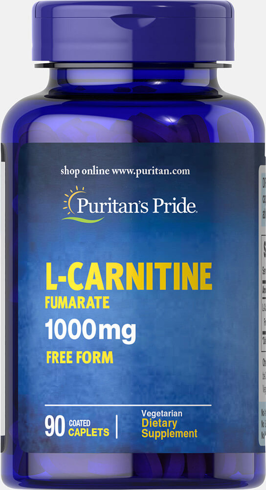 L-Carnitine Fumarate 1000 mg Thumbnail Alternate Bottle View