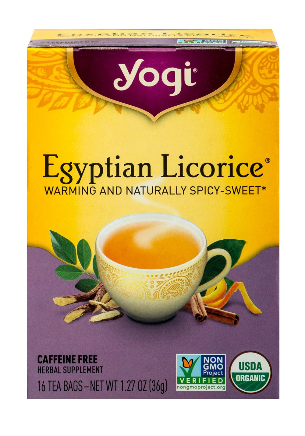 Organic Egyptian Licorice® Tea Thumbnail Alternate Bottle View