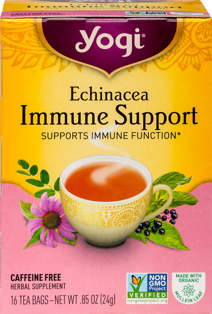 Echinacea Immune Support Tea Thumbnail Alternate Bottle View