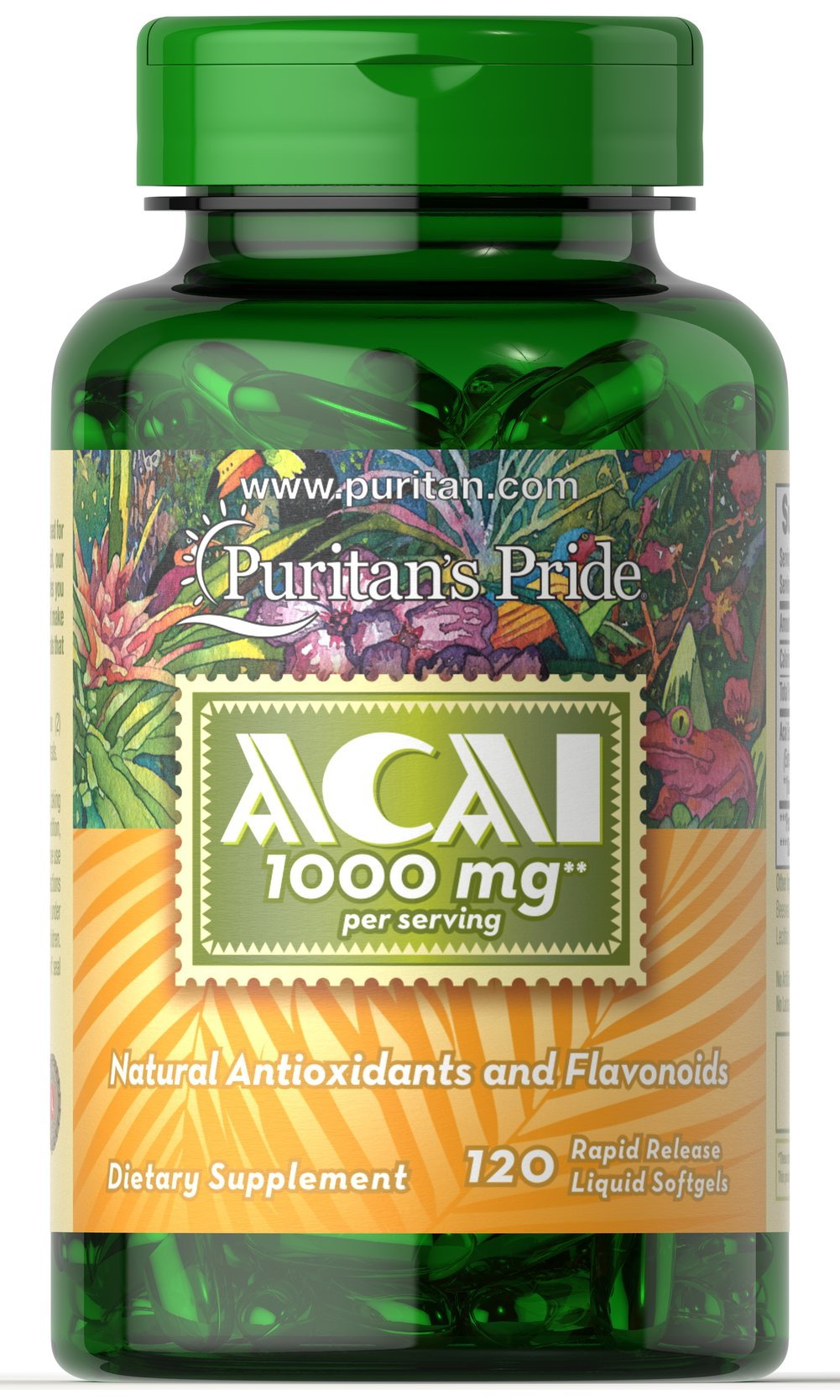 Acai 1000 mg Thumbnail Alternate Bottle View