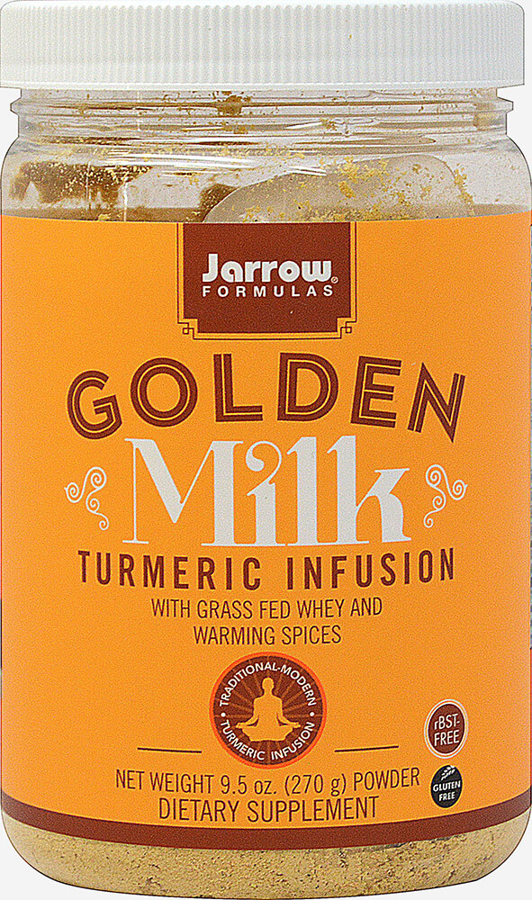 Golden Milk Turmeric Infusion with Whey and Warming Spices