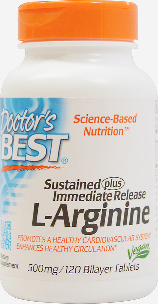 Sustained & Immediate Release L-Arginine