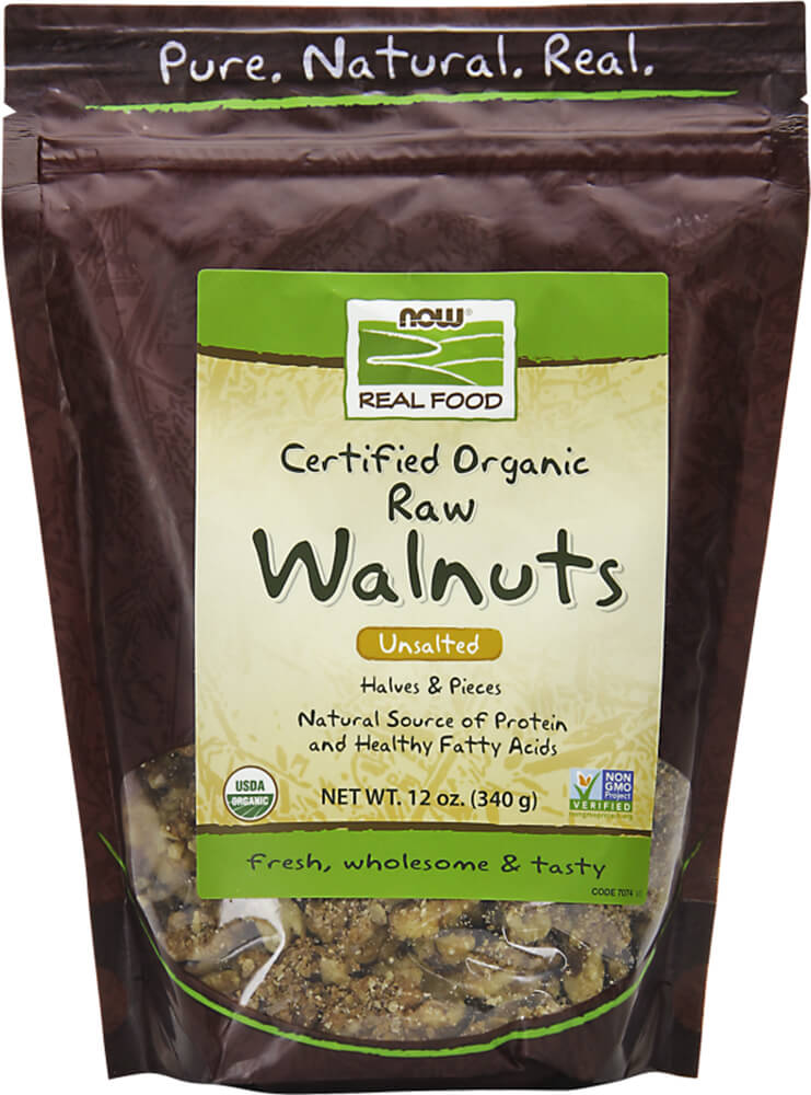 Organic Raw Unsalted Walnuts