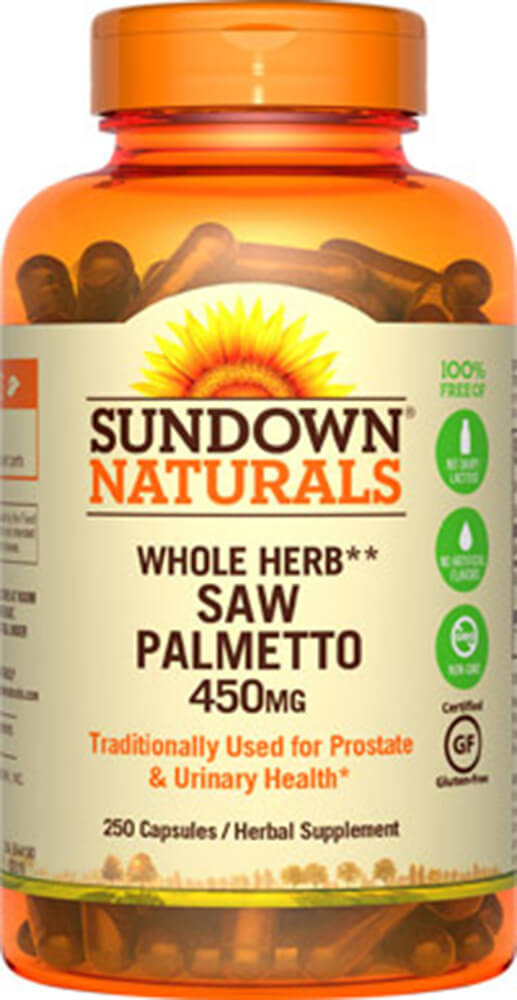 Sundown Naturals Saw Palmetto