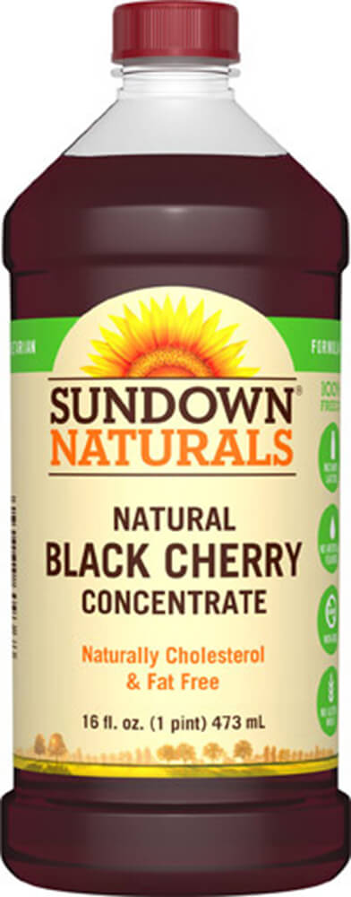 Sundown Naturals Black Cherry Concentrate Liquid