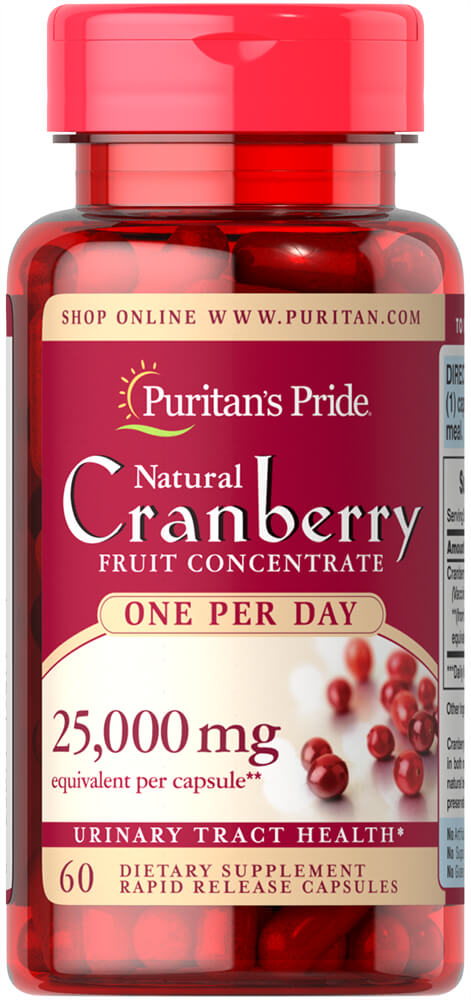 One A Day Cranberry Thumbnail Alternate Bottle View